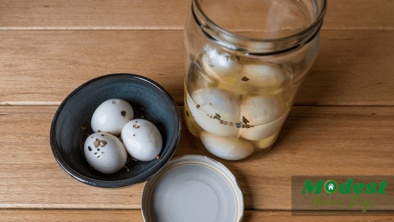 how long to keep pickled eggs at room tempereture