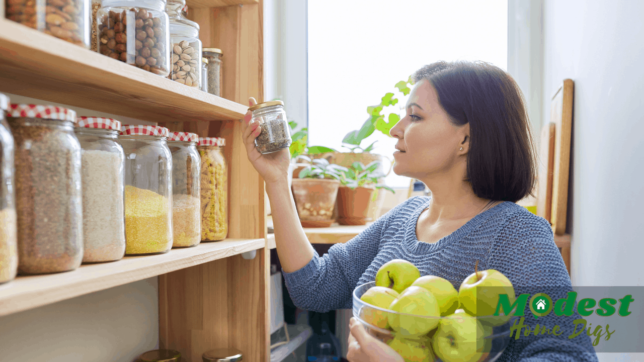 what is the best way to organize a kitchen pantry